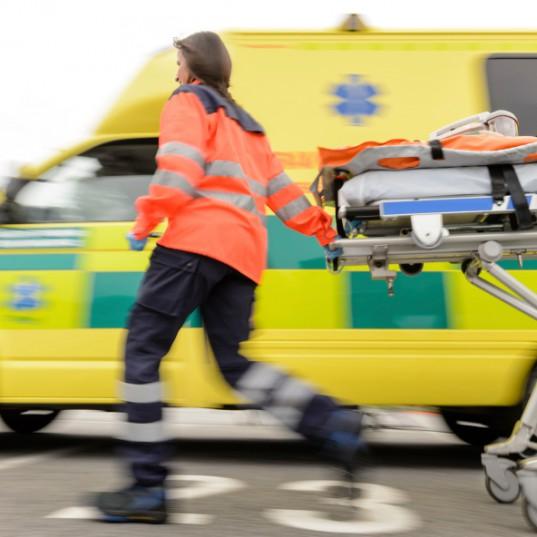 Chaos keeps medis busy