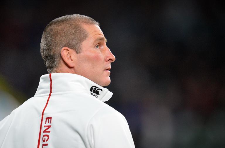 England's head coach Stuart Lancaster.