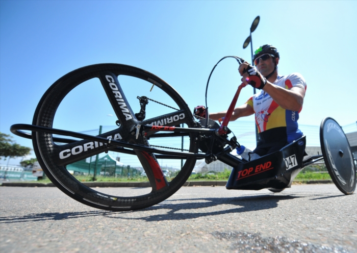 Van Dyk charges to New York hat-trick