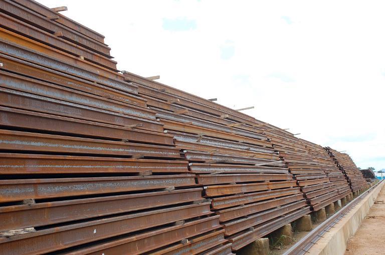 Steel stocks   Thinkstock