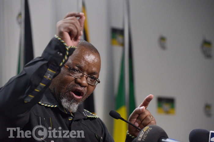 FILE PICTURE: ANC Secretary-General Gwede Mantashe. Picture: Refilwe Modise