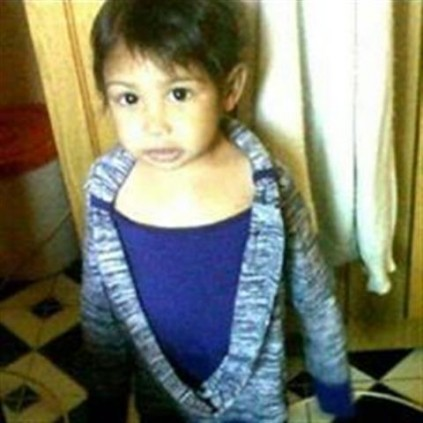 Two year-old Jamie Faith Naidoo who was allegedly murdered by a family member. Picture: In Memory of Jamie Faith Naidoo Facebook page.