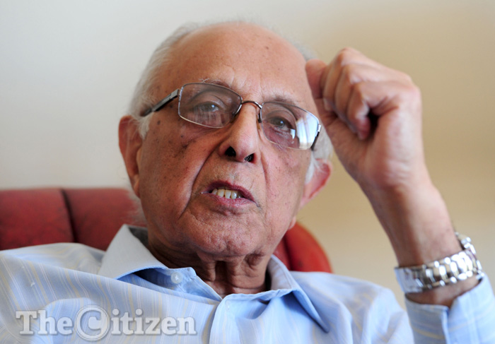 Ahmed Kathrada Picture: Tracy Lee Stark