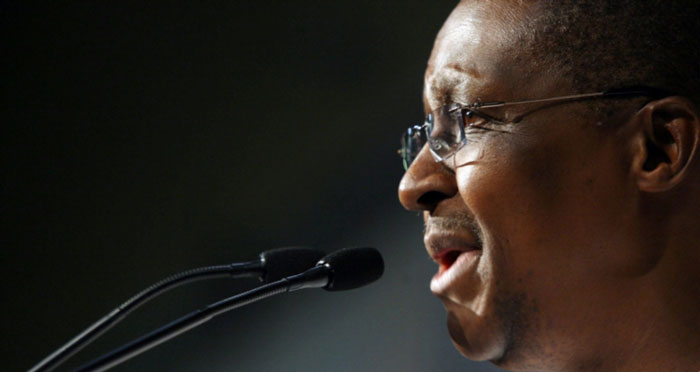 FILE PICTURE: Barney Pityana addresing the masses. Picture: Beeld/Felix Dlangamandla