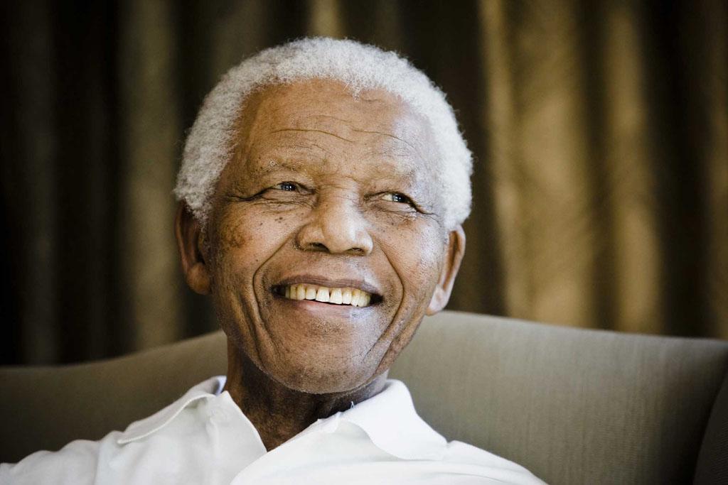Nelson Mandela in Johannesburg in 2009. Photo: Gallo Images/Foto24