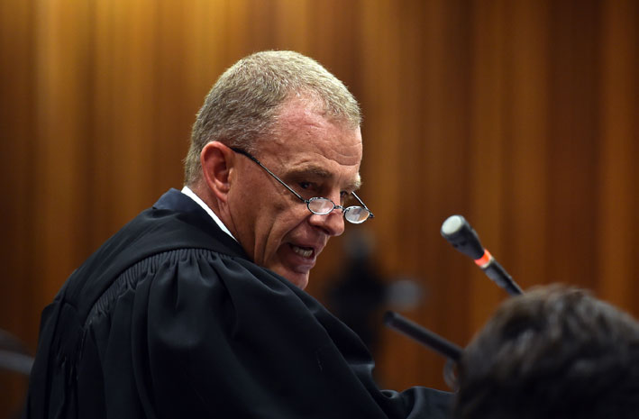 FILE PICTURE: Prosecutor Gerrie Nel. Picture:Oupa Mokoena/Independent Newspapers/Pool