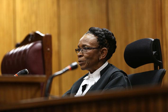 Judge Masipa dismisses Pistorius' appeal application