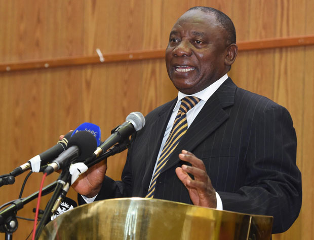 Deputy President Cyril Ramaphosa. (File Photo: DOC)
