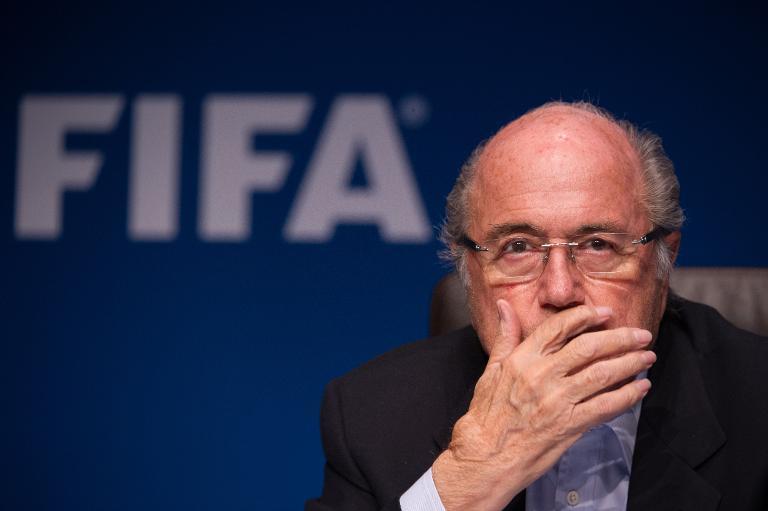 Blatter muddies soccer's water