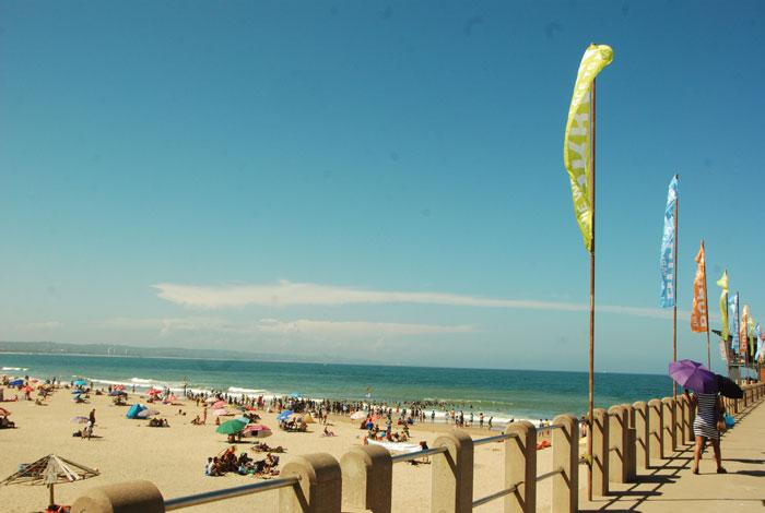 FILE PIC: A beach in Durban. Picture: Phumlani Thabethe
