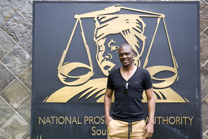 Nathi Mncube spokesperson of the National Prosecuting Authority at the NPA offices in Pretoria on 19 December 2014. Picture: Christine Vermooten