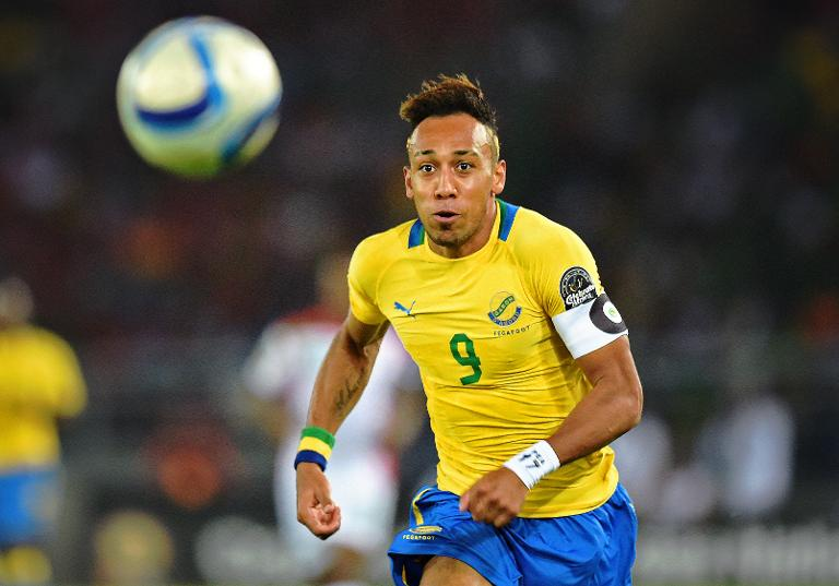 AFP/File / Carl De Souza<br />Gabon's Pierre-Emerick Aubameyang during the Africa Cup of Nations match against Burkina Faso in Bata on January 17, 2015