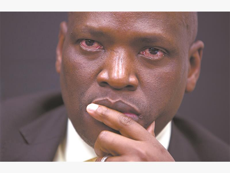 Controversial SABC chief operating officer Hlaudi Motsoeneng. Picture: Gallo Images