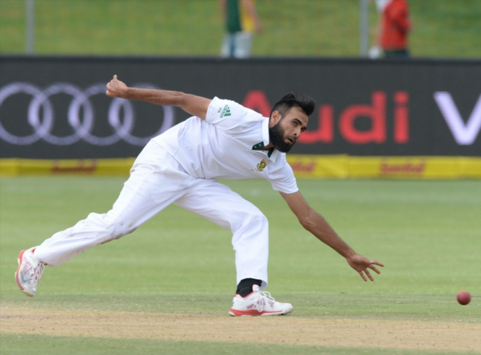 FILE PICTURE: Imran Tahir during day 4 of the 2nd Test match between South Africa and West Indies at St. Georges Park on December 29, 2014 in Port Elizabeth, South Africa. (Photo by Duif du Toit/Gallo Images)