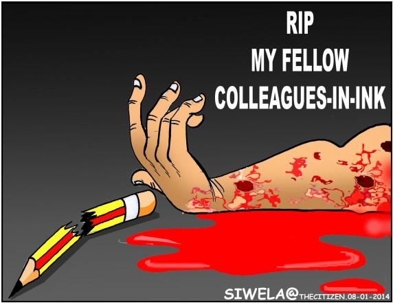 Themba Siwela, The Citizen cartoonist