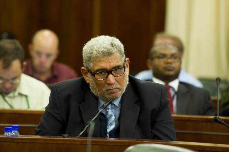 FILE PICTURE: ANC MP Cecil Burgess. (Photo by Gallo Images / Foto24 / Liza van Deventer)