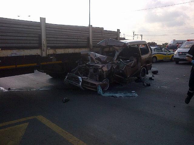 11 children were injured in the collision. Pic: ER24.