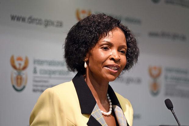FILE PICTURE: Minister of International Relations and Cooperation Maite Nkoana-Mashabane. (Photo: DIRCO)