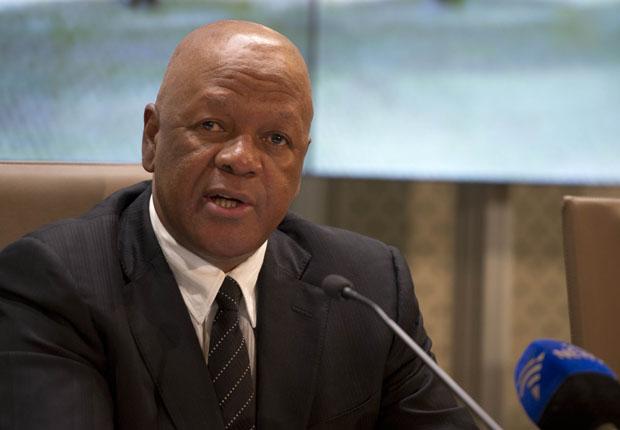 Minister Jeff Radebe. Linda Mthombeni.