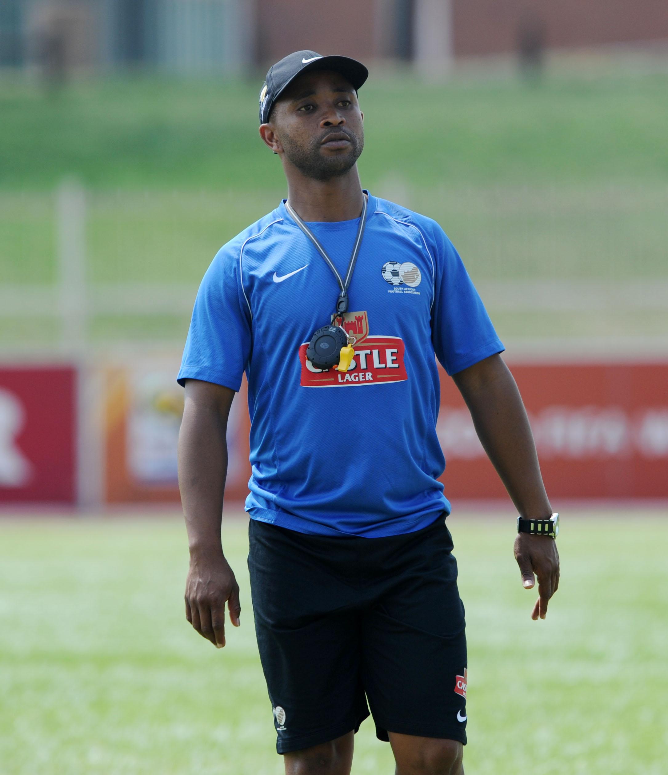 Amajita coach Thabo Senong. Pic: Muzi Ntombela/BackpagePix
