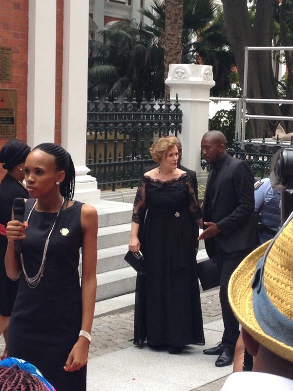 Helen Zille and Mmusi Maimane. Picture: @RSApolitics, Twitter