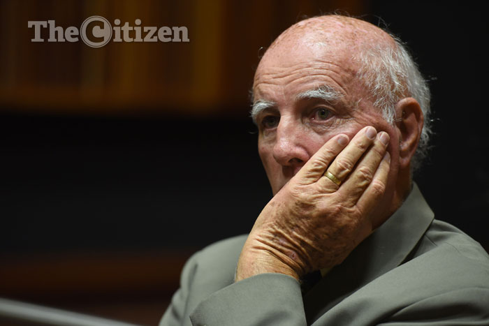 Former tennis player Bob Hewitt. Picture: Refilwe Modise