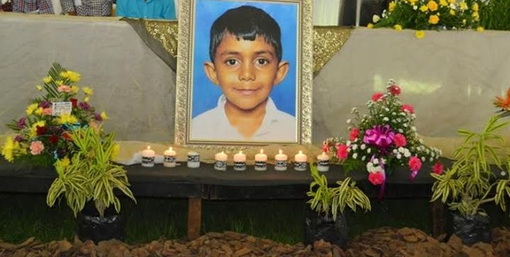 The nine-year-old Phoenix schoolboy went missing on Thursday. His body was discovered in a manhole on Sunday. Pic: Phoenix Sun.