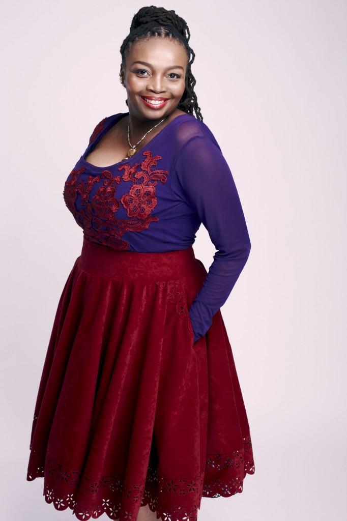 Nambitha Mpumlwana part of the etv's new telenovela Ashes to Ashes.