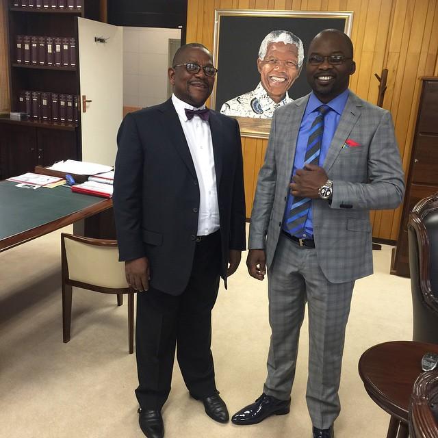 men in tuxedo and suit