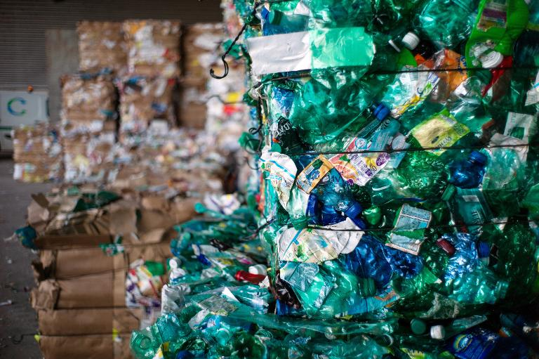 AFP/File / Sebastien Bozon<br />Shoddy waste management and littering across the globe likely added eight million metric tons of plastic to the ocean in 2010, scientists said