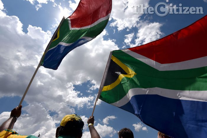 South African flag. Picture: Refilwe Modise