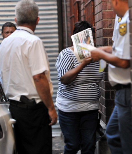 The woman who allegedly kindnapped Zephany Nurse on February 27, 2015 in Cape Town. Picture: Gallo Images