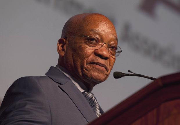 President Jacob Zuma: Pic: DoC