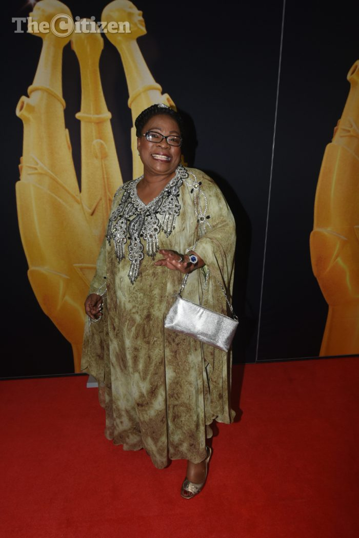 FILE PICTURE: Lillian Dube poses for pictures on the red carpet at the SAFTA's held in Midrand, 22 March 2015. Picture: Refilwe Modise