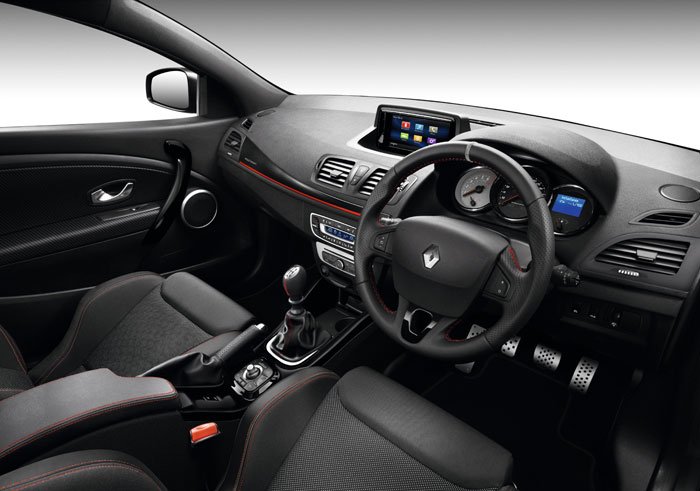 The new Renault Megane Sport 265 lux. Picture: Supplied