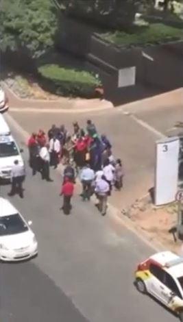 UPDATE: Sandton 'hijacker' in hospital under police guard
