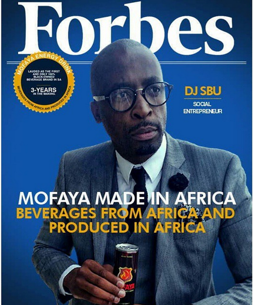 DJ Sbu in trouble again over fake cover