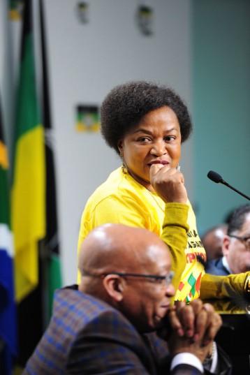 ANC chairperson Baleka Mbete. Picture: Nigel Sibanda