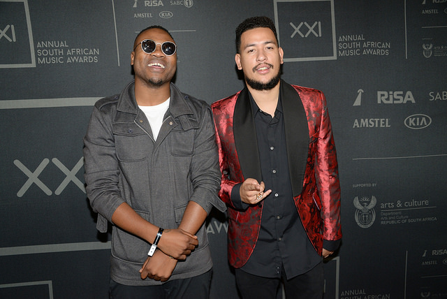 AKA and Reason seen at the SAMA XXI nominations announcement. Picture: SAMA XXI Flickr