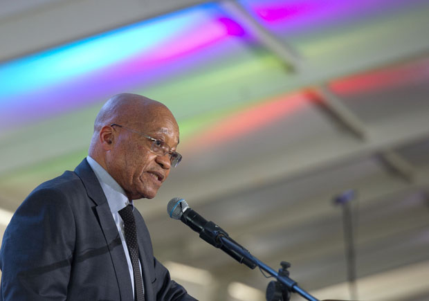 FILE PICTURE: President Jacob Zuma delivers an address. (Photo: GCIS)