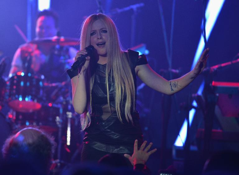 Getty/AFP/File / Theo Wargo<br />Avril Lavigne performs in New York City on December 3, 2013