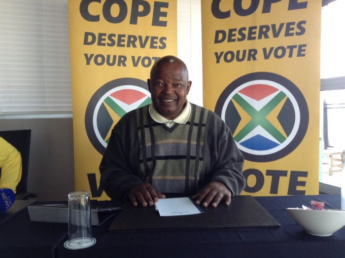 FILE PICTURE: Mosiuoa Lekota from COPE. Photo Amanda Watson