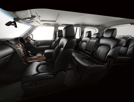The Infinite QX80. Picture: Supplied