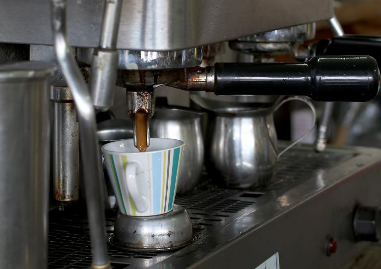 Getty/AFP/File / Joe Raedle<br />Scientists have announced recently that three to five cups of coffee daily do not have long-term health risks