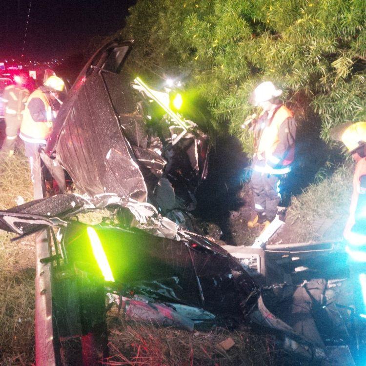 Paramedics at the scene. Pic: Rescue Care