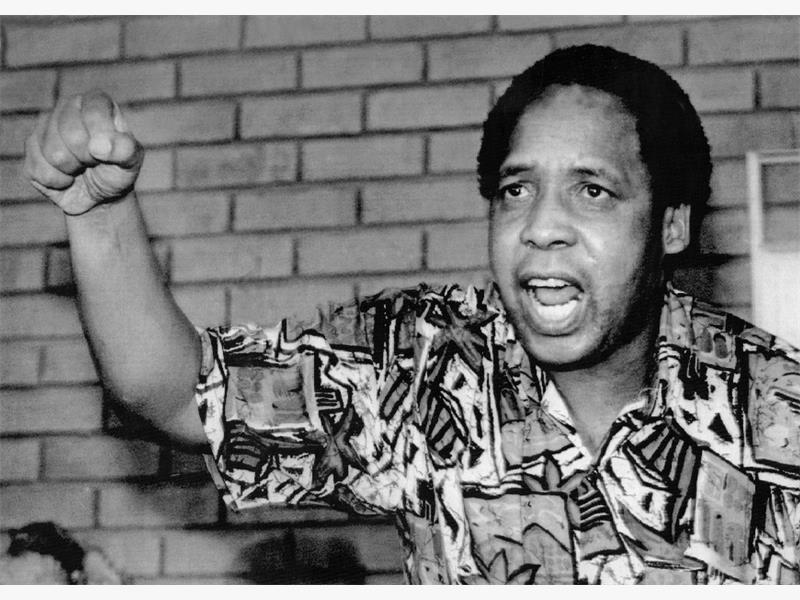 HERO. Chris Hani, leader of the South African Communist Party and Umkhonto we Sizwe, was assassinated on April 10, 1993. Picture: Gallo Images