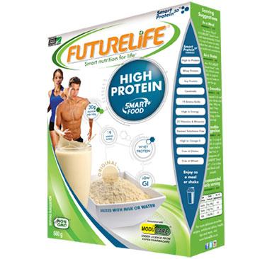 High protein pack shot Photo: FutureLife