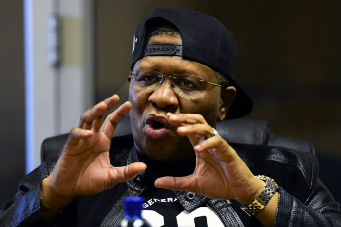 Mbalula prays in tongues on Twitter