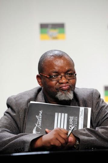 Secretary-general of the ANC Gwede Mantashe. Picture: Nigel Sibanda