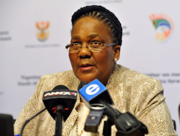 Minister of Transport Dipuo Peters.
